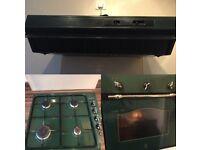 Oven hob and hood