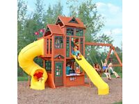 **Wanted** Large climbing frame etc