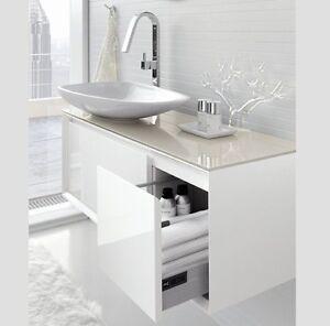 mobile da bagno moderno sospeso vari colori ar45 bianco