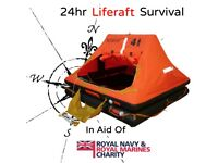 Charity Event - 24hr Liferaft Survival in aid of Royal Navy & Royal Marines Charity