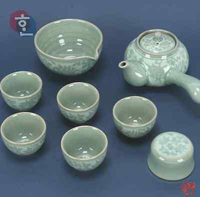 Korean Glassware[Tea brewing set]
