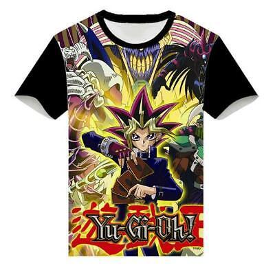 Yu-Gi-Oh! Anime Manga Motiv Cosplay Rundhals T-Shirt Shirt Kostüme Polyester
