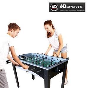 NEW MD SPORTS 48-INCH SOCCER TABLE - 96269885 - FOOSBALL JITZ TABLE - CORNER KICK - SPORTS RECREATION GAME ROOM GAMES...