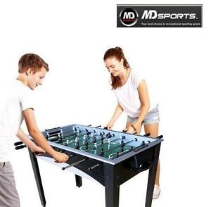 NEW MD SPORTS 48-INCH SOCCER TABLE FOOSBALL JITZ TABLE - CORNER KICK - SPORTS RECREATION GAME ROOM GAMES TABLES