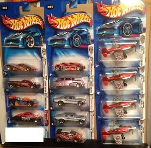 Hot Wheels with First Editions 2004 - 2005, 5 Photos included.