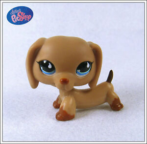 Littlest-Pet-Shop-Dog-518-Collection-Child-Girl-Figure-Cute-Toy-Loose-Rare-XY25