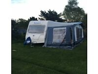 Bailey Ranger 550/6 2008, 6 berth touring caravan with full Dorema awning!