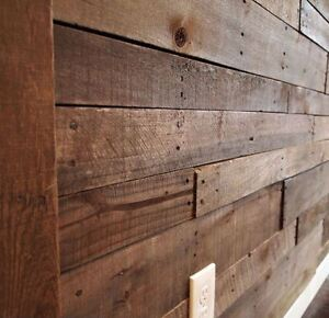 Square foot price for Reclaimed Pallet Wood