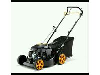 New petrol self propelled lawnmower