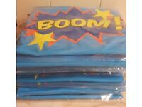 Joblot of 8 Super Bunny 'Boom' Cartoon Boys/Girls - Unisex Outfit - Hop to it!