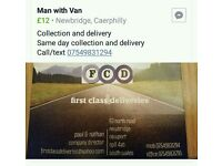 F.c.d deliverys wide range of places we collect and deliver
