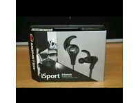 BOXED MONSTER ISPORT BLUETOOTH WIRELESS HEADPHONES RRP £150 (