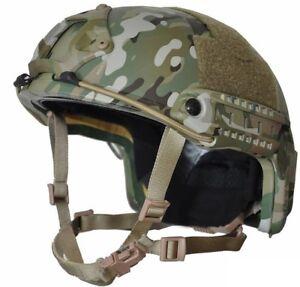 MULTI-CAM High Cut (Special Forces) LVL  IIIA Ballistic  Helmet-