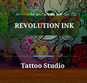 Revolution Ink In Home Tattoo Studio $60 Per Hour