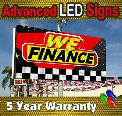 57 X 125 Video Led Sign Full Color Outdoorindoor Programmable Factory- Usa
