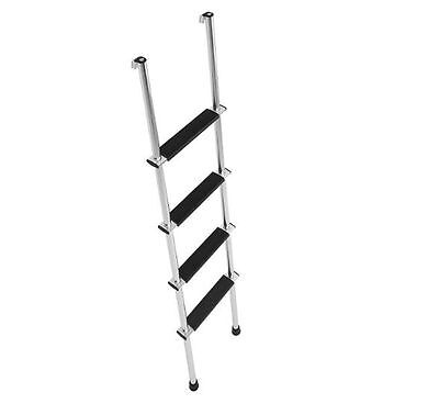 RV Bunk Ladder For Camper Trailer Motor Home 66 Inch Can Trim For Shorter Bunk