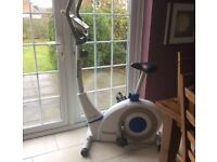Reebok Pure Exercise bike excellent condition bought for £300