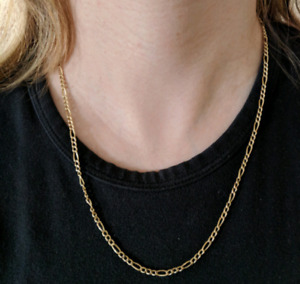 Gold Necklace - 14k - 21 inch - Real Gold Beauty