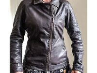 Timberland Ladies Leather Jacket. Size Medium