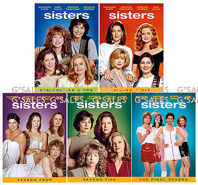 Sisters TV Series Complete Season 1-6 Final (1 2 3 4 5 6) NEW 31-DISC DVD SET