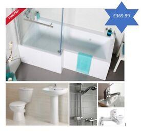 Full bathroom suite
