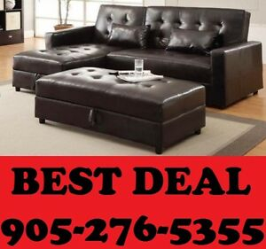 3PCS SECTIONAL SOFA BED WITH STORAGE IN ALL PCS $599.00