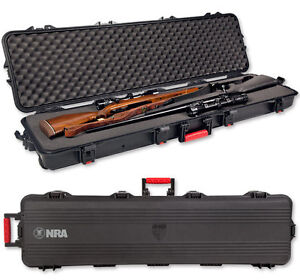 NRA Plano Weatherproof Double Scoped Rifle Case 108190 Use Pelican 1750 foam 50
