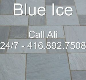 Blue Ice Flagstone Pavers Blue Ice Patio Paving Stone Tiles Porc