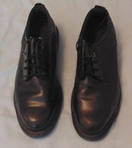 Dunham RUGGARDS Black Leather Oxford Safety Shoes 16EEEE London Ontario image 1