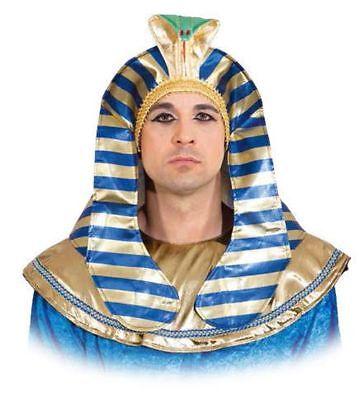 Orl - Pharao Kopfbedeckung Hut zum Ägypter Kostüm Karneval Fasching - Pharao Kostüm Hut