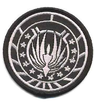 Battlestar Galactica Rasierer 6.3cm Uniform/Kostüm Patch-Usa Mailed - Battlestar Galactica Uniform Kostüm