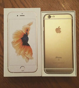 iPhone 6S 16GB Gold in Box - Mint Condition - Bell/Virgin