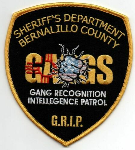 NEW MEXICO NM BERNALILLO COUNTY SHERIFF GANGS NICE PATCH POLICE