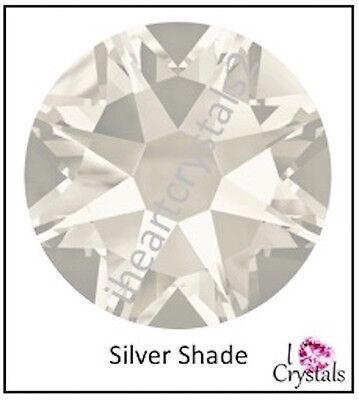 - SILVER SHADE 144 pieces 12ss 3mm Swarovski Crystal Flatback Rhinestones 2088