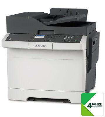 LEXMARK CX317dn Farblaser-Multifunktionsgerät A4, 3-in-1, Drucker, Kopierer