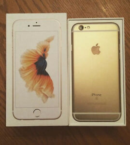 APPLE IPHONE 6S 32GB GOLD FACTORY UNLOCKED MINT CONDITION