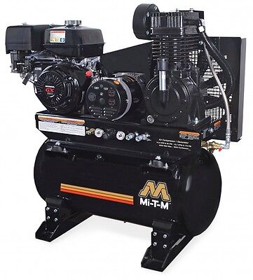 Mi-T-M AG2-SH13-30M 30 Gallon Two Stage Combination - Includes Electric Start