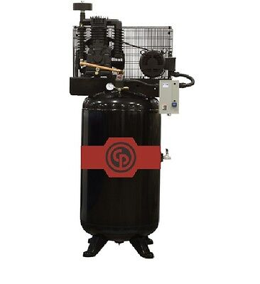 Chicago Pneumatic 10 Hp Air Compressor Standard Two Stage Electric Rcp-10123vs