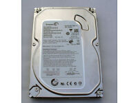 500GB Seagate 3.5 inch Desktop SATA hard drive