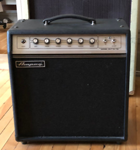 Ampeg GVT15 Combo with upgraded Neo Speaker and spare tubes