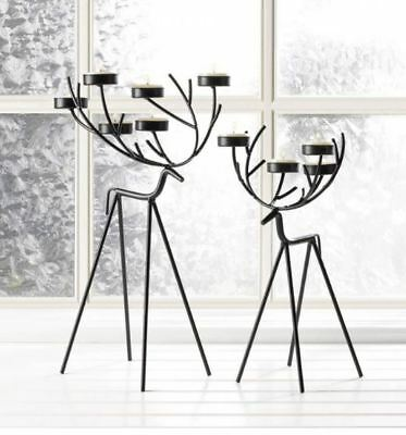Coffee Table Centerpiece Dining 2 Rustic Nightstand Bedroom Set Twig Reindeer   - Coffee Table Centerpieces