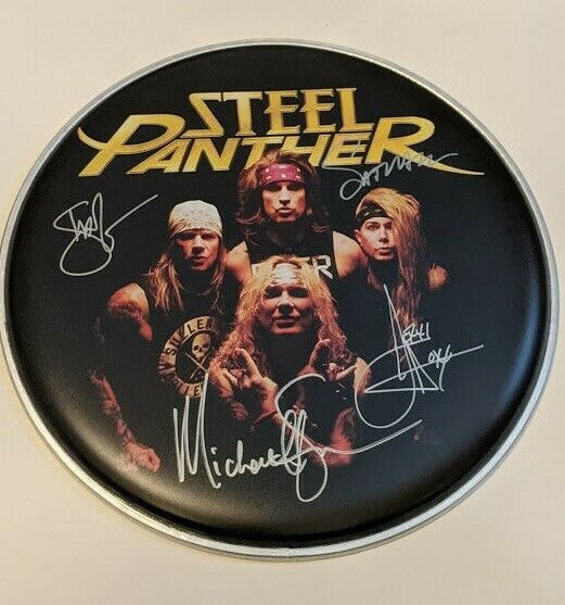 Steel Panther - Signed 2020 Tour Drumhead