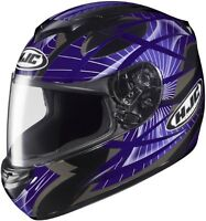 HJC CS-R2 STORM Helmet(MC-11)Purple/Casque de moto Violet