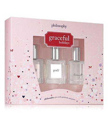 Graceful  Holidays Fragrance Set  2017   By Philosophy Nib  Please Read