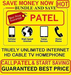 UNLIMITED INTERNET , CABLE TV , PHONE , INTERNET