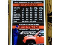 MOBILE CAR VALETING 24/7---07555547675