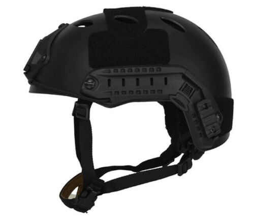 Lancer Tactical PJ Type SpecOps Military Style Airsoft Helmet With Rails