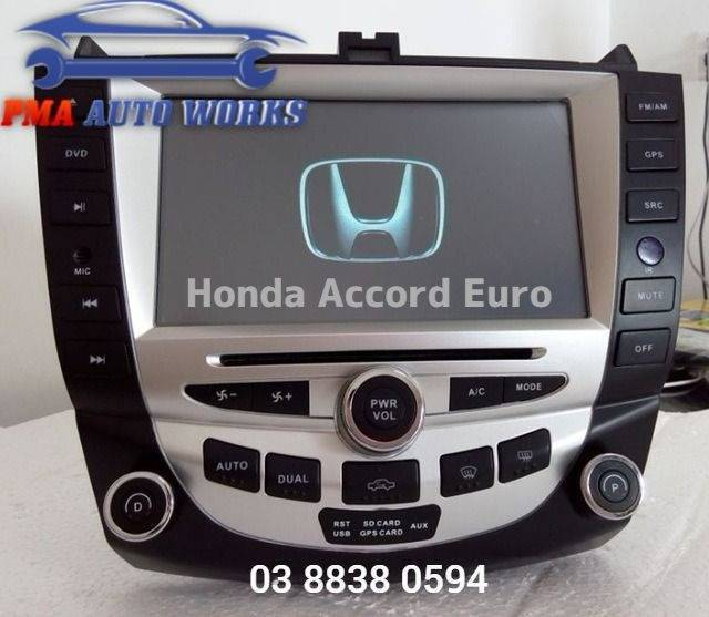 Honda Accord Euro GPS DVD Reverse Camera Head Unit Radio BT | Audio, GPS & Car Alarms | Gumtree ...