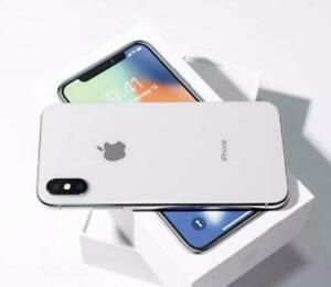 Brand New iPhone X Silver 256 GB in Original Box (Mint Condition)!!!!