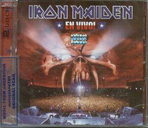 IRON-MAIDEN-EN-VIVO-SEALED-2-CD-SET-NEW-2012-LIVE-SANTIAGO-CHILE